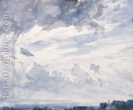 Cloud Study by John Constable - Reproduction Oil Painting