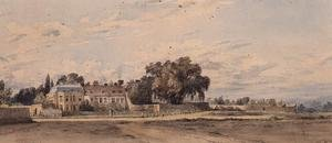 Reproduction oil paintings - John Constable - Houses at Putney Heath, 1818