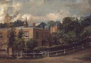 Reproduction oil paintings - John Constable - View of Lower Terrace, Hampstead