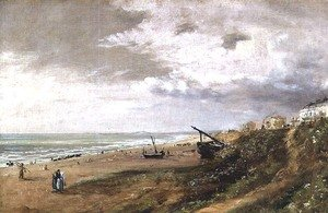 Reproduction oil paintings - John Constable - Hove Beach