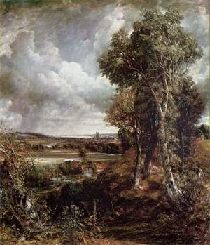 Reproduction oil paintings - John Constable - Vale of Dedham, 1828