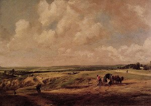 Reproduction oil paintings - John Constable - Hampstead Heath, c.1820
