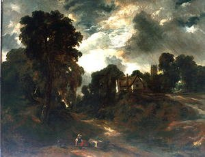 Reproduction oil paintings - John Constable - The Glebe Farm