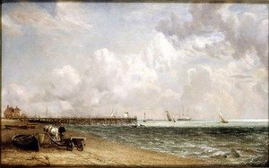 Reproduction oil paintings - John Constable - Yarmouth Jetty