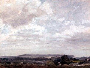 Reproduction oil paintings - John Constable - View in Wiltshire
