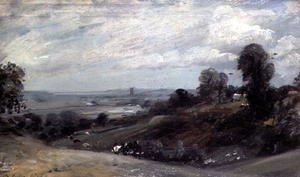 Reproduction oil paintings - John Constable - Dedham Vale from Langham