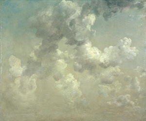 Reproduction oil paintings - John Constable - Study of Clouds