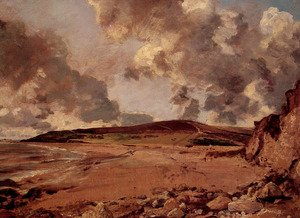 Reproduction oil paintings - John Constable - Weymouth Bay with Jordan Hill, c.1816