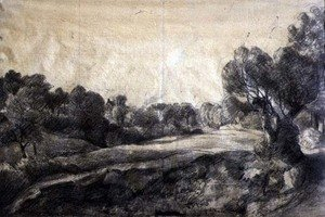 Reproduction oil paintings - John Constable - A Dell, c.1805
