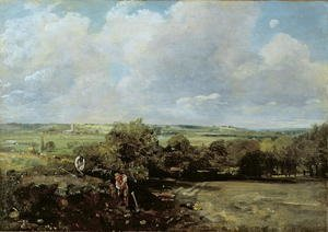 Reproduction oil paintings - John Constable - The Vale of Dedham, 1814