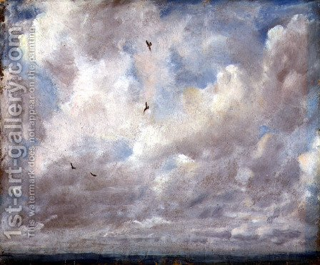 John Constable: Cloud Study, 1821 - reproduction oil painting