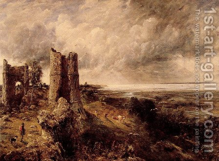 Hadleigh Castle, 1829 by John Constable - Reproduction Oil Painting