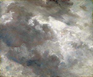 Reproduction oil paintings - John Constable - Cloud Study 1821 (2)