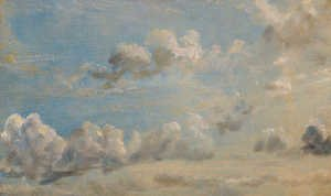 Reproduction oil paintings - John Constable - Study of Cumulus Clouds, 1822