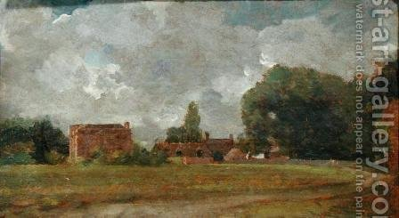 Golding Constable's House, East Bergholt  The Artist's birthplace by John Constable - Reproduction Oil Painting