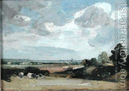 Dedham from Langham by John Constable - Reproduction Oil Painting