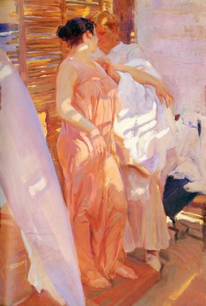 Famous paintings of Summer: After the Bath, 1916