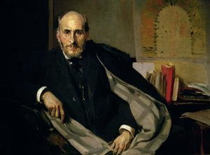 Portrait of Santiago Ramon y Cajal (1852-1934) 1906