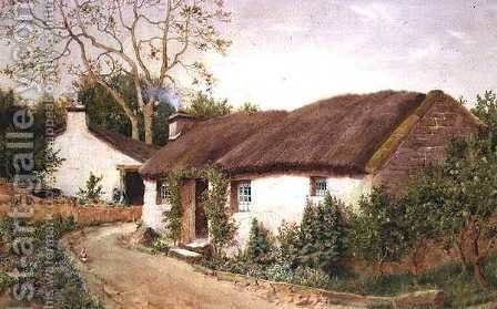 Old Cottage, Colwyn Bay by Isaac Cooke - Reproduction Oil Painting