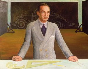 Famous paintings of Cars: Edsel B. Ford (1893-1943)  1932