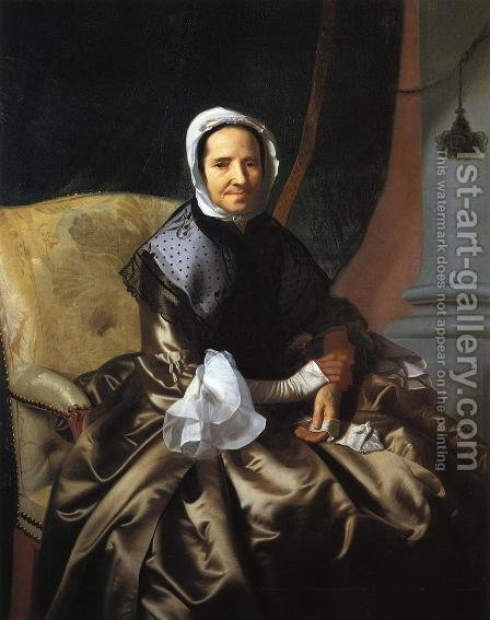 Mrs Thomas Boylston, 1766 by John Singleton Copley - Reproduction Oil Painting