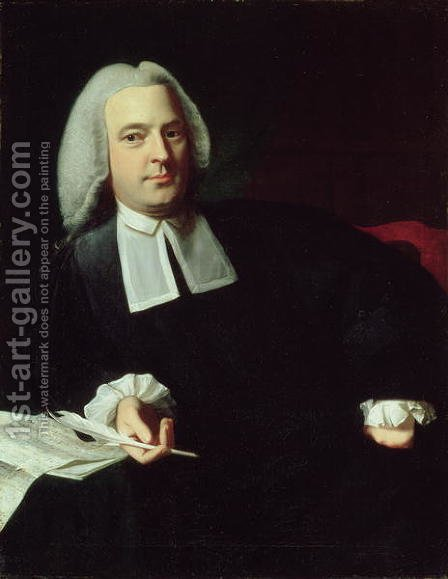 Samuel Quincy, c.1767 by John Singleton Copley - Reproduction Oil Painting