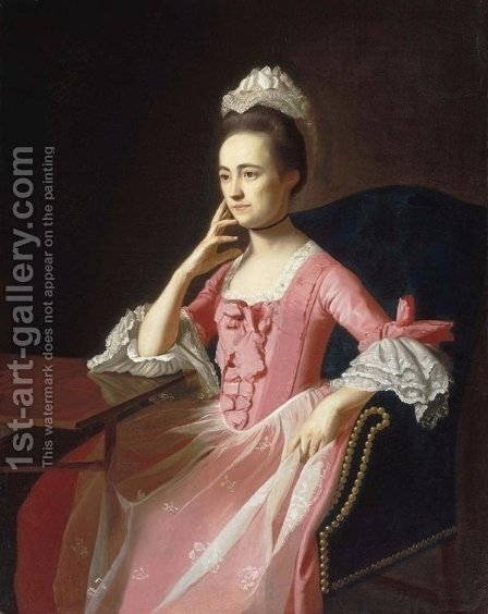 Dorothy Quincy (1747-1830), c.1772 by John Singleton Copley - Reproduction Oil Painting
