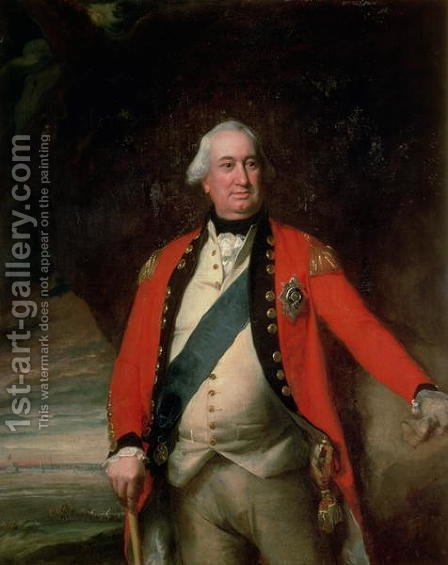 Charles, Marquess Cornwallis, K.G., c.1795 by John Singleton Copley - Reproduction Oil Painting
