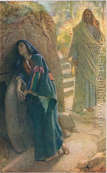 Mary Magdalene, 1927 by Harold Copping - Reproduction Oil Painting