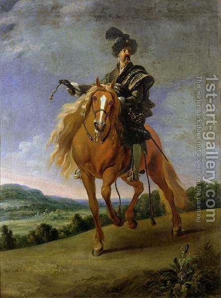 John III Sobieski by Gonzales Coques - Reproduction Oil Painting