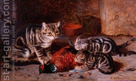 Monopoly by Horatio Henry Couldery - Reproduction Oil Painting