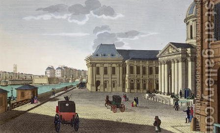 The Palais des Beaux Arts, c.1815-20 by Henri  (after) Courvoisier-Voisin - Reproduction Oil Painting
