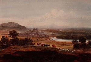 Hay-on-Wye, Herefordshire, c.1830-40