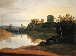 Famous paintings of Ports: Pembroke Castle