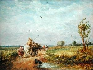 Going to the Hayfield, 1853