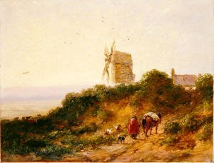 The Road to the Mill, 1849