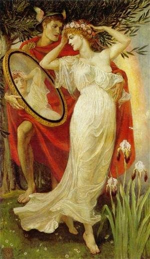 Reproduction oil paintings - Walter Crane - Art and Life, 1907