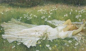 Reproduction oil paintings - Walter Crane - Summer, 1895
