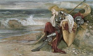 Reproduction oil paintings - Walter Crane - Britomart 1900