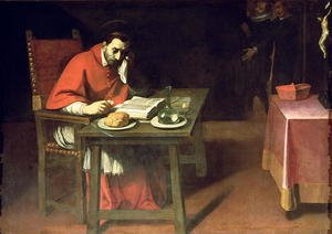 Reproduction oil paintings - Daniele Crespi - The Fasting of St. Charles  c.1625