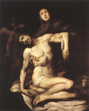 Reproduction oil paintings - Daniele Crespi - The Pieta 1626