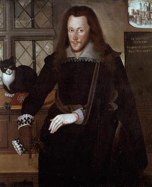 Famous paintings of Men: Henry Wriothesley, 3rd Earl of Southampton (1573-1624), 1603