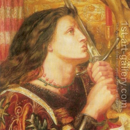 Joan of Arc by Howard Pyle - Reproduction Oil Painting