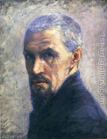 Self Portrait II by Gustave Caillebotte - Reproduction Oil Painting