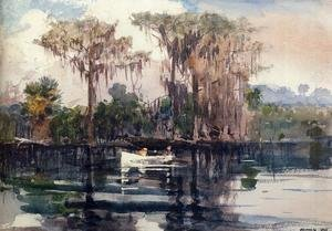 Famous paintings of Ships & Boats: St. John's River, Florida