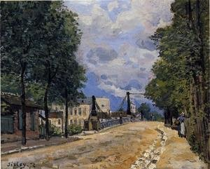 Reproduction oil paintings - Alfred Sisley - The Road from Gennevilliers