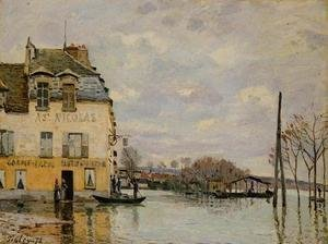 Reproduction oil paintings - Alfred Sisley - Flood at Port-Marly