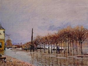 Reproduction oil paintings - Alfred Sisley - Flood at Port-Marly I