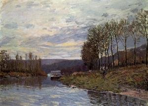Reproduction oil paintings - Alfred Sisley - Seine at Bougival