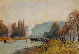 Reproduction oil paintings - Alfred Sisley - The Seine at Bougival I